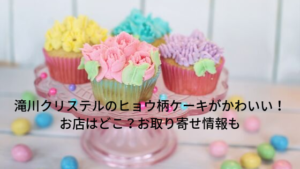 滝川クリステルのヒョウ柄バースデーケーキがかわいい!お店はどこ?お取り寄せ情報も